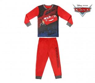 22-2287 Pijama de invierno para niño motivo CARS de algodón talla de 3 a 7 años