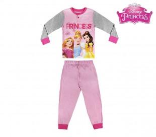 22-2291 Pijama de invierno para niña motivo PRINCESA DISNEY talla de 2 a 6 años