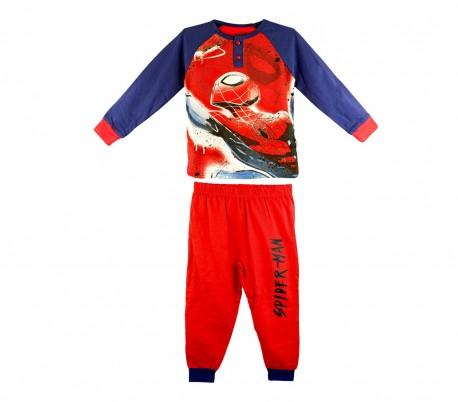 22-2285 Pijama de invierno para niño motivo Spiderman tallas de 2 a 7 años