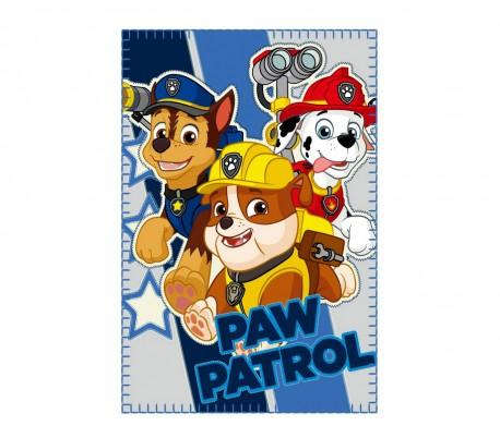 615115 Manta polar suave y calentita para niños motivo PAW PATROL 100x150 cm