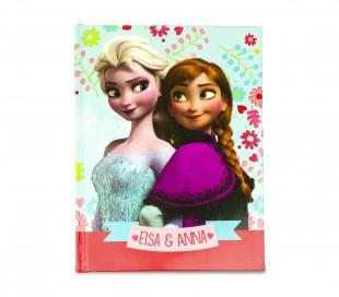 861154 Agenda 10 meses para el colegio Anna ed Elsa Frozen para niñas