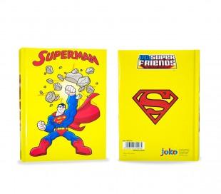 610264 Agenda 10 meses para el colegio SUPERMAN para niños super friends heroes