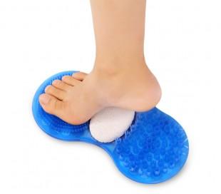 4360 Alfombra exfoliante para pies masajeador y con piedra para limar las pieles