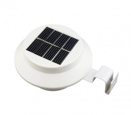 4370 Luz LED con panel solar 3 WATT 3 LED con soporte para poner en la pared
