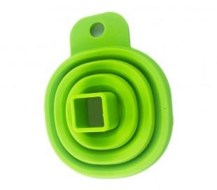 4354 Embudo plegable ahorra espacio de silicona suave6 x 5,5 x 1,5 cm
