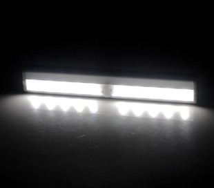 4362 Lámpara LED automática con sensor de movimiento de batería de 1.5 vatios