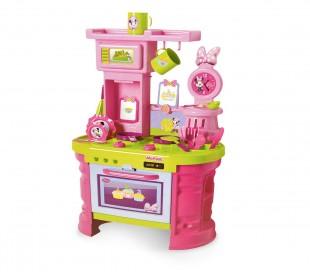 084014 Mega cocina con accesorios MINNIE con 15 fantásticos accesorios H 72 cm