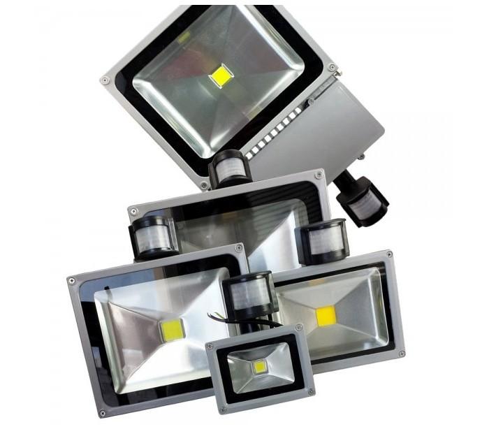 Foco led con sensor de movimiento y sensor crepuscular - Luz sensor movimiento ...