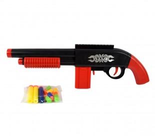 358801 Escopeta de juguete BUBLE BULLET GUN con dardos de ventosa incluido