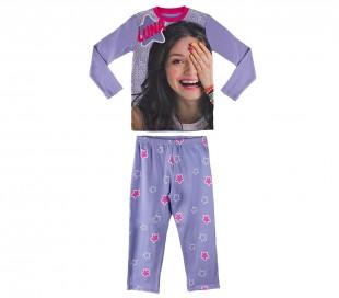 22-1722 Pijama de manga larga para niña SOY LUNA DISNEY tallas 6-8-10-12 años