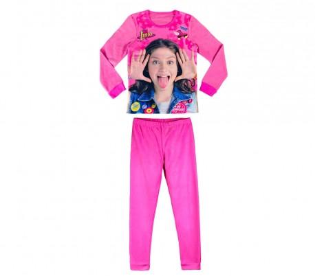 22-1733 Pijama de invierno para niña SOY LUNA DISNEY lana suave y cálido
