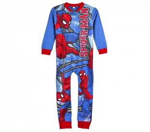 22-1729 Pijama de invierno entero para niños SPIDERMAN lana suave y calentita