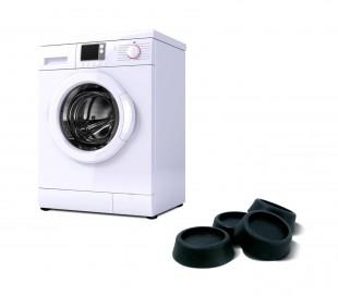 370650 Set de 4 almohadillas anti-vibración para lavadoras y secadoras ø 5,5 cm