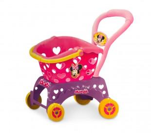 084199 Carro para la compra de MINNIE con la cesta para comprar extraíble 2 en 1