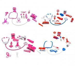 334676 Playset Doctor incluye 13 fantásticos accesorios para aspirantes a médico