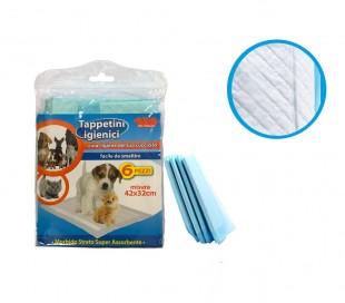 627336 Empapadores higiénicos para cachorros súper absorbente de 6 PZ PET SITTER
