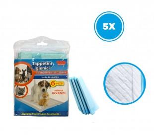 627336 Empapadores higiénicos para cachorros super absorbentes de 30 piezas