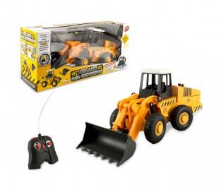 121477 Excavadora de juguete I GIGANTI DELLE COSTRUZIONI con mando y 6 funciones