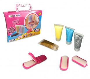 341070 Kit de brillo para el cabello CIGIOKI gel para el cabello color temporal