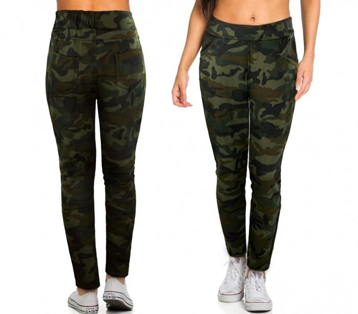 ... KZ-380 Pantalones para mujer mod. GIPSY fantasía camuflaje tamaño S a  XL ... 500f0adc9082