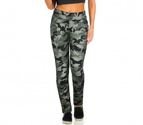 KZ-380 Pantalones para mujer mod. GIPSY fantasía camuflaje tamaño S a XL