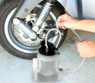ST3503 Aspirador liquido de frenos y contenedor de llenado automático Starkemu
