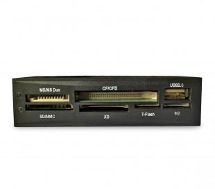 Lector de tarjetas 3,5'' AL56BK ALPIE lector de tarjeta universal 56 en 1 USB