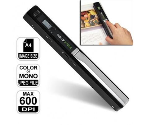 Escaner inalámbrico portátil a4 900 dpi skypix