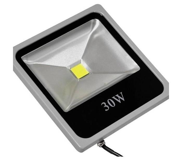 Foco led medida slim luz calida 3000k para exteriores ip for Focos de led para exterior