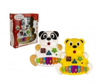 104407 Juego musical para niños PIANINO CUCCIOLINO juega y aprende luces y sonid