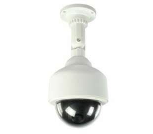 Camara speed dome dummy led intermitente de seguridad