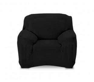 4351 Funda para sofá de 1 plaza tela elástica y color liso muy fácil de poner