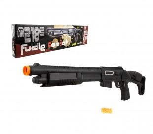 038536 Rifle de juguete COMBAT CIGIOKI M218C con balas de calibre 6mm