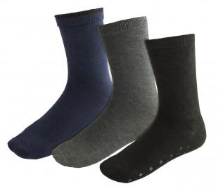 N-829 Pack de 3 pares de calcetines para hombre mod. SOCKS antideslizante 40/46
