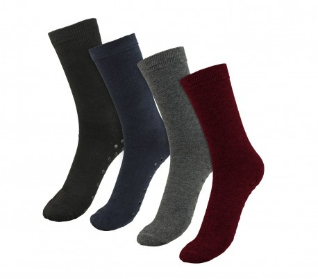 LT-1921A Pack 3 calcetines mujer mod. VERA con antideslizantes talla 35/40