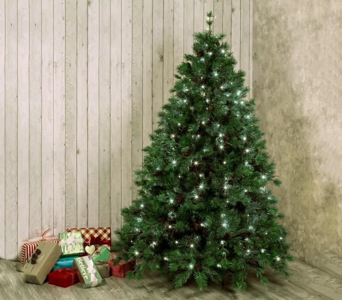 561320 Luces de Navidad MANTELLO 270 LED LUZ FRIA para árboles de hast