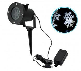 560896 Proyector luz LED láser FIOCCO DI NEVE uso externo resistente al agua