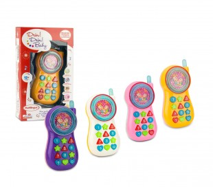 Teléfono de juguete 120000 DRIN DIRN BABY juegos interactivos de luz multilingüe