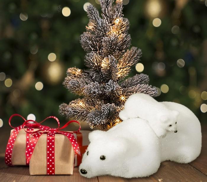 605115 decoraci n de navidad para el hogar oso polar en - Adornos navidenos para el hogar ...