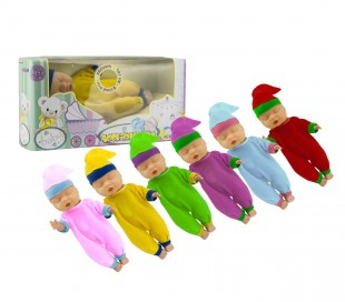 124888 Muñeca en varios colores ADORABLE BABY CIGIOKI estornuda como un bebé