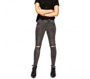 81154 Jeans de cintura alta para mujer. RAGGED tallas slim fit de XS a XL