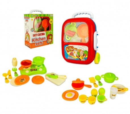 363744 Playset de cocina KITCHEN SET CIGIOKI con muchos accesorios