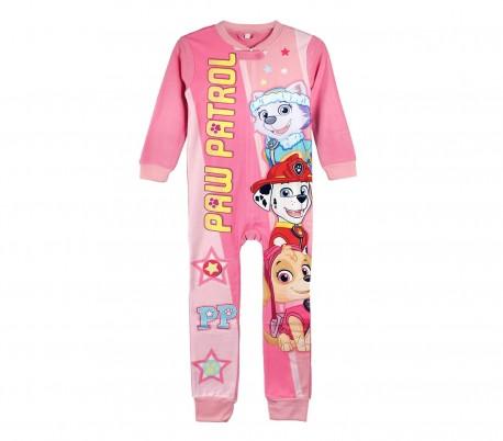 2831c18f 22-1727 Pijama entero Paw PATROL para niña con forro polar suave de 3 a