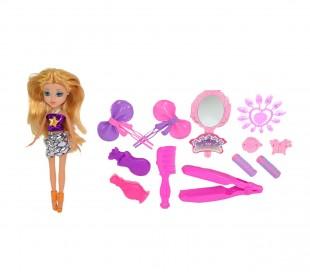 250594 Muñeca MISS MY LOVE CIGIOKI con accesorios para uñas y cabello