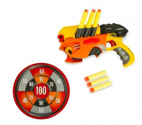 281567 Juguete Gun Con Y Dardos Suaves Inc Air Objetivo Rifle De Sport l13cFTKJ