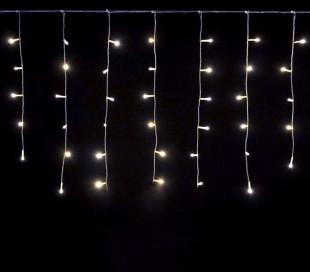 Luces de Navidad Cortina 96 LED 561283 LUZ FRÍA exterior 3 mt x 0.6 cm