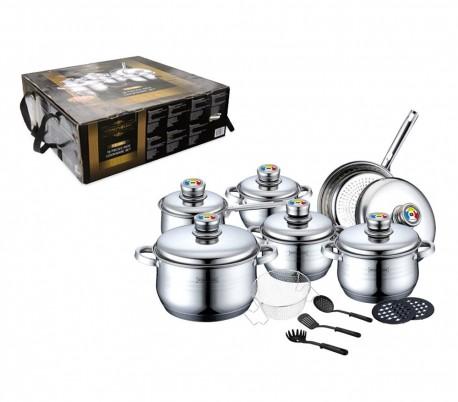 Rl 1802 juego de utensilios de cocina de acero inoxidable for Accesorios para cocina en acero inoxidable