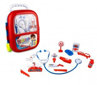 363751 Playset doctor TROLLEY CIGIOKI incluye 13 fantásticos accesorios