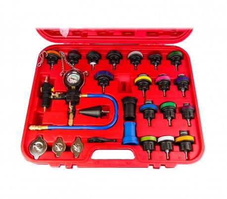 4503 Probador de presión del radiador FUBUCA con purga de vacío y kit de recarga