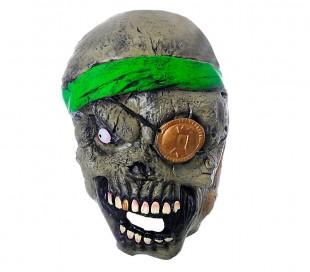 ed6e7deb585d9 441630 Máscara para disfraces de carnaval ZOMBIE PIRATA talla única